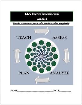 Common Core ELA Assessment (5) Grade 4