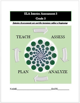 Common Core ELA Assessment (5) Grade 5