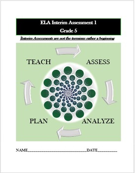 Common Core ELA Assessment (1) Grade 5