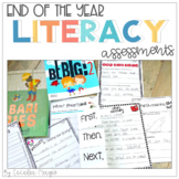 Common Core End of Year Literacy Assessments for 1st and 2nd Grade
