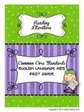 Common Core ELA Assessments Grade 1 (Reading Literature)