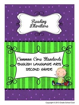 Common Core ELA Assessments Grade 2 (Reading Literature)