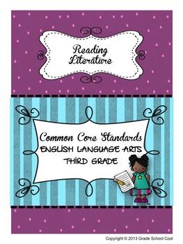 Common Core ELA Assessments Grade 3 (Reading Literature)