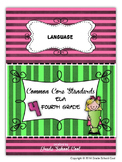Common Core ELA Assessments Grade 4 (Language)
