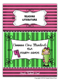 Common Core ELA Assessments Grade 4 (Reading Literature)