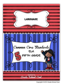 Common Core ELA Assessments Grade 5 (Language)