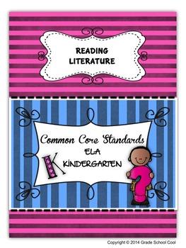 Common Core ELA Assessments Grade K (Reading Literature)