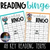 Reading BINGO - Grades 3,4,5