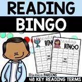 Reading Test Prep Review Vocabulary Bingo Game   ELA Centers