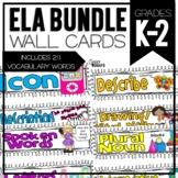 Common Core ELA Cards K-2 Mega Pack