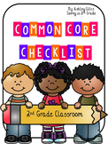 Common Core ELA Checklist (2nd Grade)