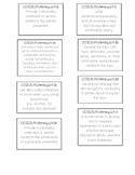 Common Core ELA File Folder Labels Fourth Grade
