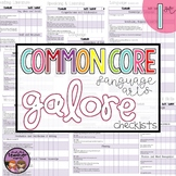 Common Core ELA Galore {1st grade checklist}