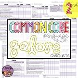 Common Core ELA Galore {2nd grade checklist}