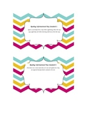Common Core ELA Grade 5 Informational Text Standards Chevron Border