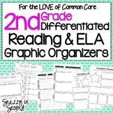Differentiated Graphic Organizers for 2nd Grade {Common Core}