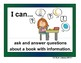 "Common Core ELA ""I Can"" Posters Kinder Level Sample Pack"