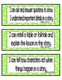 "Common Core ELA ""I Can"" Statements 2nd Grade- Colored per Strand"