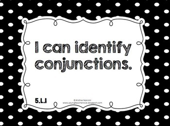 5th Grade Common Core ELA I Can and We Can Statement Posters {Kid Language}