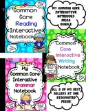 Common Core ELA Interactive Notebook-Mega Bundle
