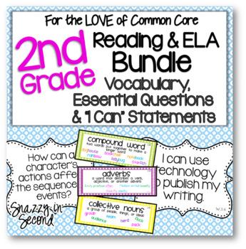 Common Core ELA Jumbo Pack for 2nd Grade