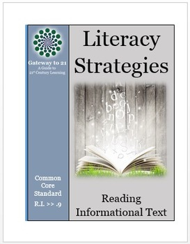 Common Core ELA Literacy Strategies/Centers (CCSS. ELA- RI.>>9) (Grades 2-8)