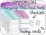 Common Core Standards Checklist THIRD GRADE