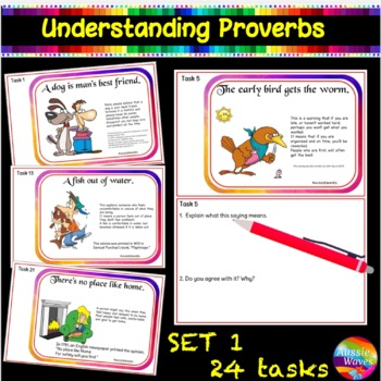 Sayings and Phrases CC Kinder & Yr1 - Printable Anchor Sheets, Tasks, Game Cards