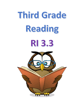 Common Core ELA - RI 3.3