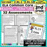 2nd Grade Common Core  ELA Assessments - Reading Literature