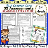 2nd Grade Common Core  ELA Assessments - Reading Literature
