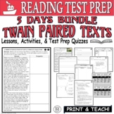 Common Core ELA Reading Test Prep Lesson BUNDLE: Paired Passages Mississippi