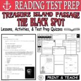 Common Core ELA Reading Test Prep Lesson BUNDLE: Treasure Island (Fiction)