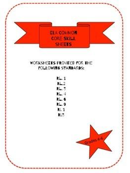 Language Arts Skills Sheets