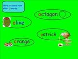 Vowels: Vowel O (Smartboard)