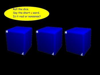 Vowels: Vowel U (Smartboard)