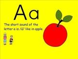 Vowels: Vowels AEIOU BUNDLED PACKAGE (Smartboard)