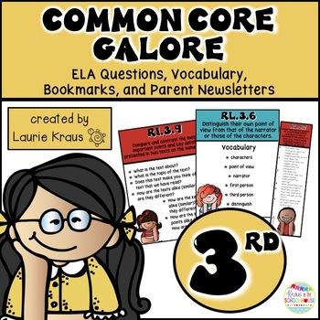 3rd Grade Common Core ELA Reading Literature and Informati