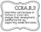 Common Core ELA Standards Grade 7 Poster Set - Black & White INK SAVER