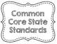 Common Core ELA Standards Grade 7 Poster Set - Black & Whi