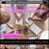 Common Core • ELA Standards • Speaking & Listening • 2nd Grade