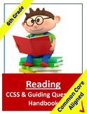 Common Core Reading Standards and Stems Handbook - 6th Grade