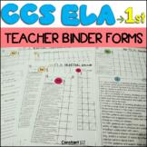 Teacher Binder Common Core ELA