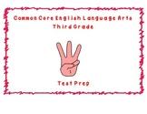 Common Core ELA Third Grade Test Prep Part C
