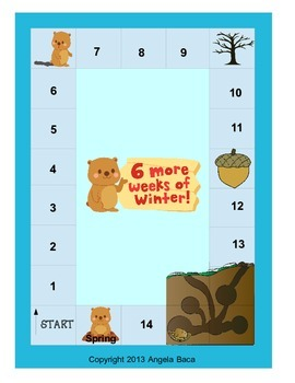 Common Core ELA Woodchucks aka Groundhogs Expository Unit FREEBIE GAME