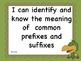 """Common Core 3rd grade Jungle/Safari Theme """"I can"""" statement learning goals"""