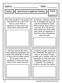 Common Core ELA and Math Assessments Grade 5 (DOUBLE PACK)
