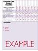Common Core ELA and Math Data Checklist {2nd Grade}