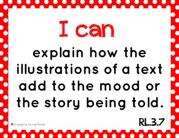 """Common Core ELA and Math Kid Friendly """"I Can"""" Statements 3rd Grade"""