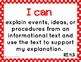 """Common Core ELA and Math Kid Friendly """"I Can"""" Statements 4"""